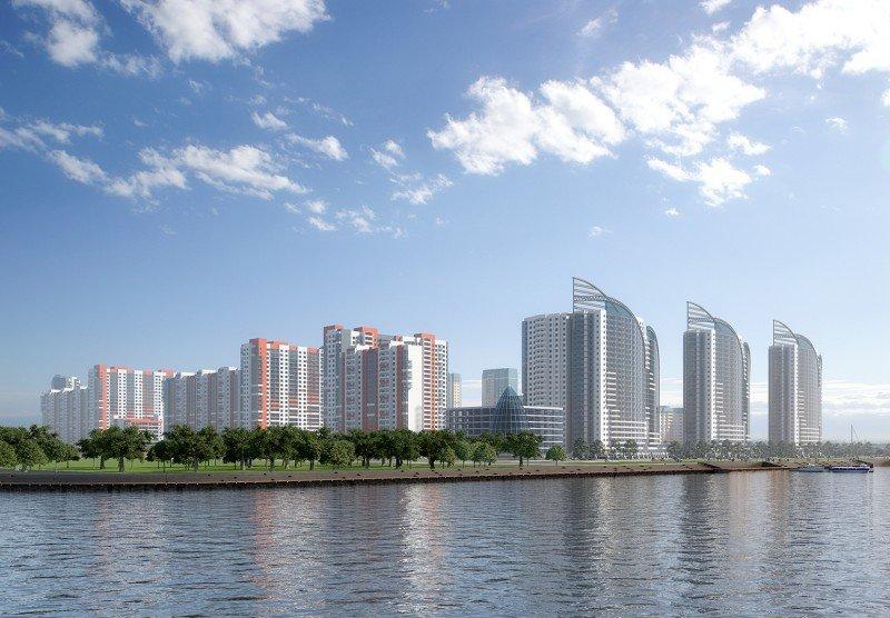 фото жилой комплекс южная акватория питер
