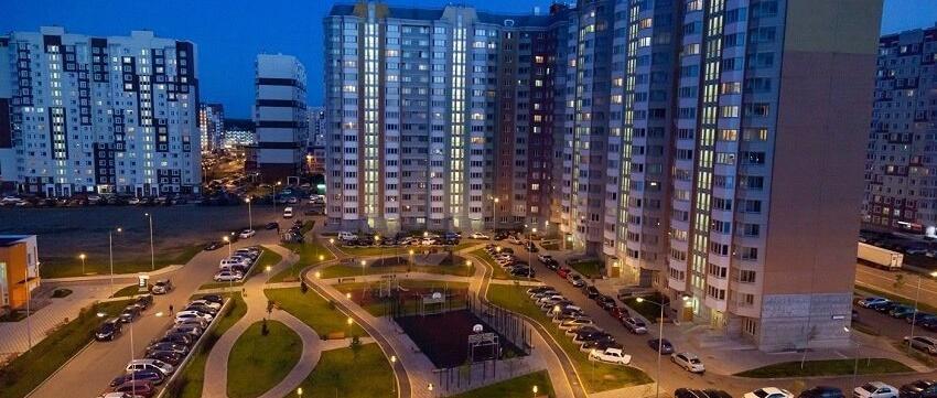 Средняя площадь купленной квартиры в Новой Москве выросла на треть
