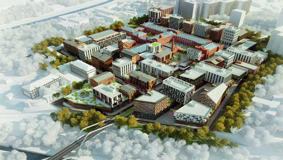 Новые кварталы появятся на месте старых заводов