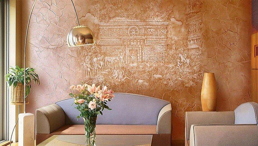 Декоративная отделка стен: материалы и советы дизайнеров