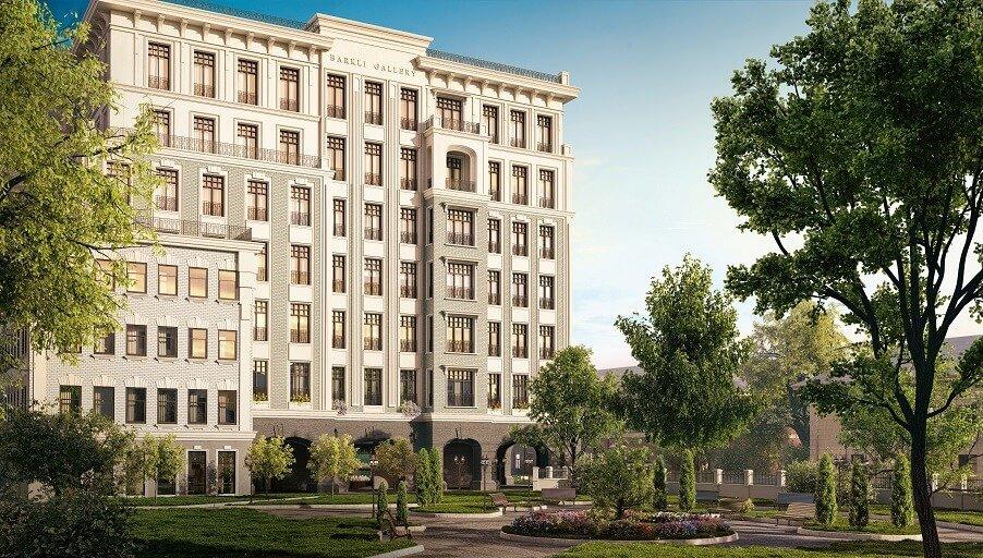 Завершен первый этап строительства клубного дома Barkli Gallery в Замоскворечье