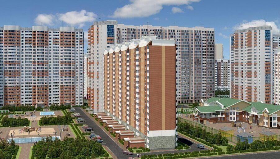 Проект «Домодедово Парк» - комплексная застройка в городе Домодедово.
