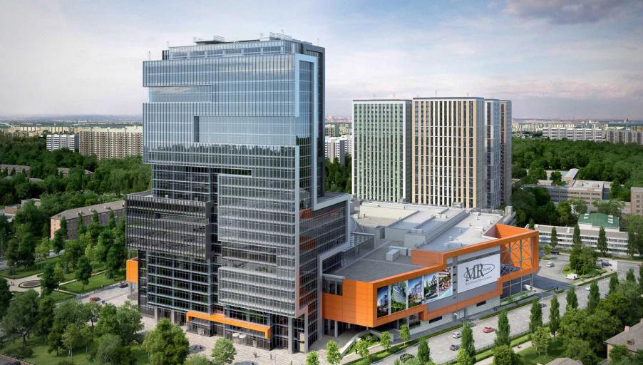 Компания MR Group завершила реализацию офисных площадей в БЦ «Водный»