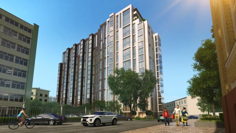 Клубный дом «Басманный, 5» в центре Москвы введён в эксплуатацию