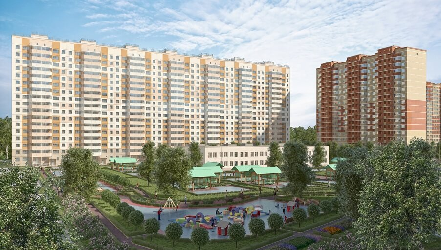 Агентство недвижимости «РЯДОМ» объявляет старт продаж в новых корпусах ЖК «Домодедово Парк» и ЖК «Новогорск Парк»