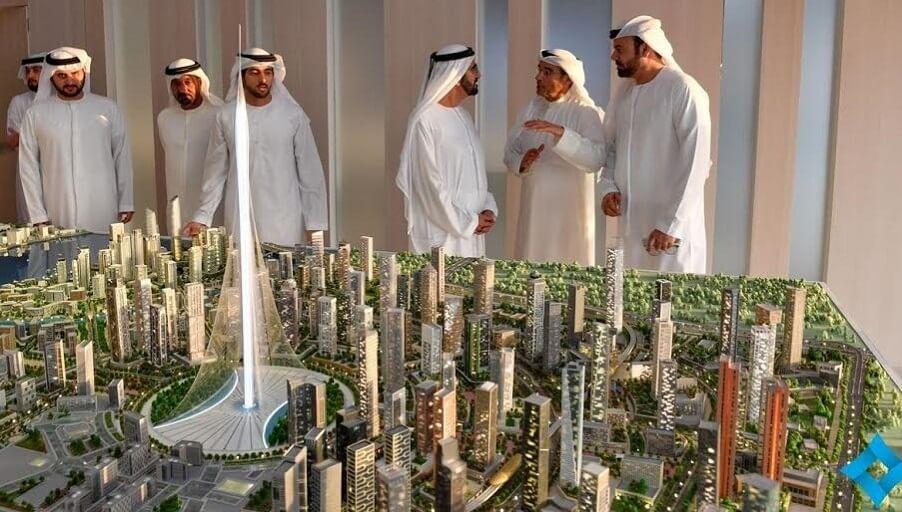 Дубай меняет строительный имидж
