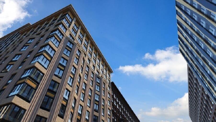 Строительство корпусов первой очереди ЖК «Царская площадь» завершено на 90%