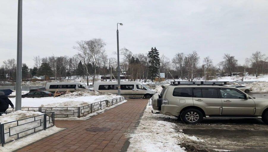 В ЖК «Одинбург» появилась первая остановка общественного транспорта