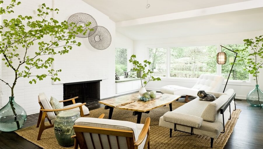 Эко стиль в интерьере: нетронутая природа в доме