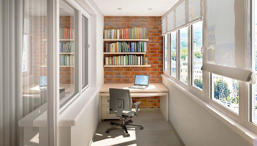Планировка и дизайн домашнего мини-кабинета