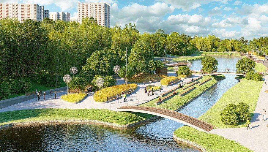 Рядом с «Гринадой» появится рельефный парк