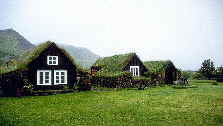 На Западе набирают популярность «зеленые дома»