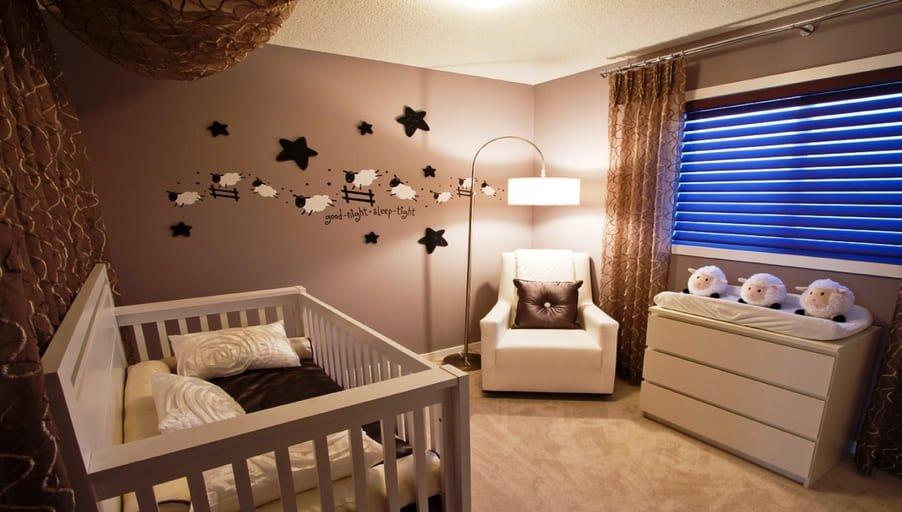 Обустройство комнаты для новорожденного