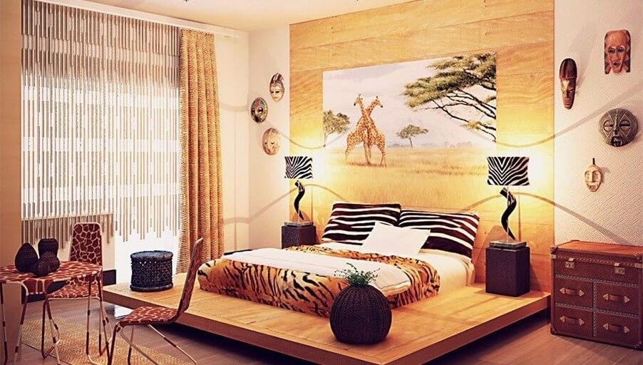 Африканский стиль: зов дикой природы