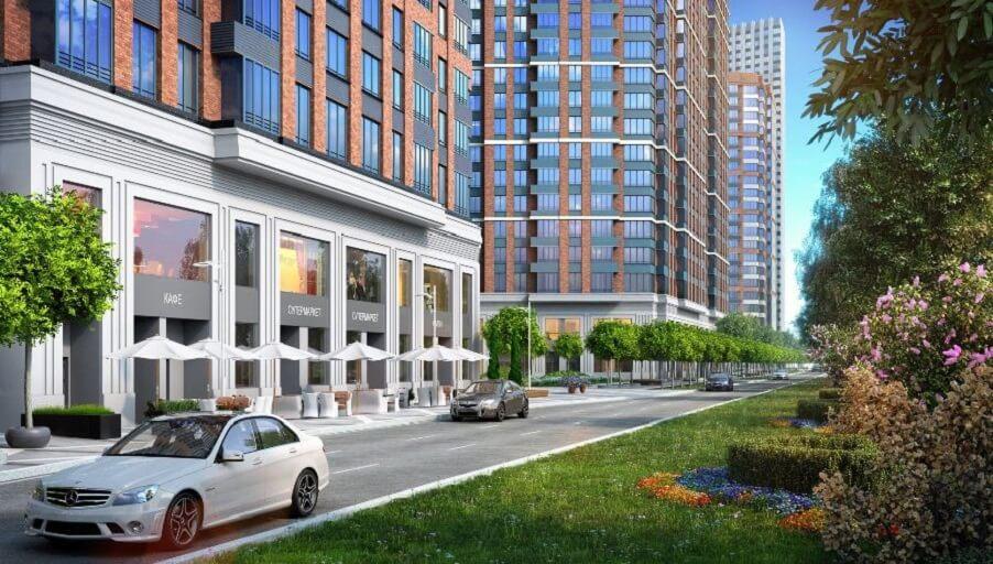 В строящихся жилых комплексах ДОНСТРОЙ реализовано 80% коммерческих площадей