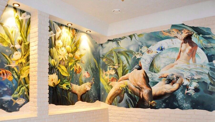 Художественная роспись стен: советы профессионала