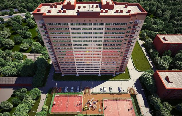 ЖК на ул. Серпуховская, 3А в Московской области