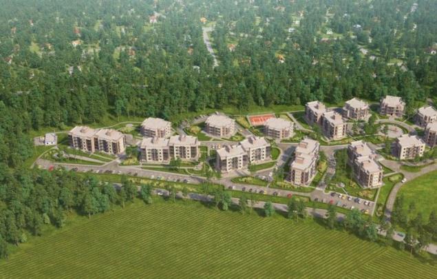 ЖК Горки Парк в Ленинградской области