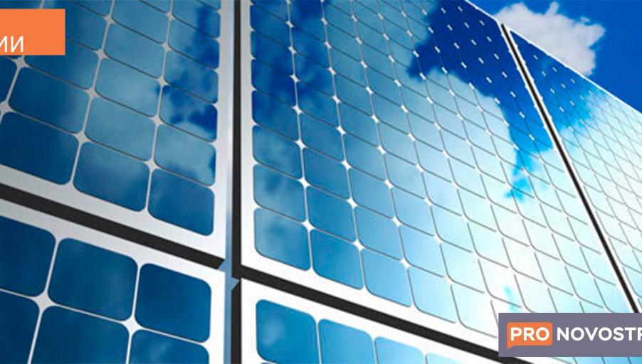 Фотовольтаическое-стекло