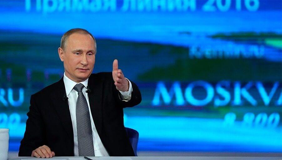Прямая линия с Путиным и вопросы недвижимости