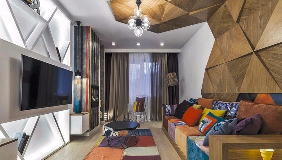 Стиль авангард в интерьере квартиры