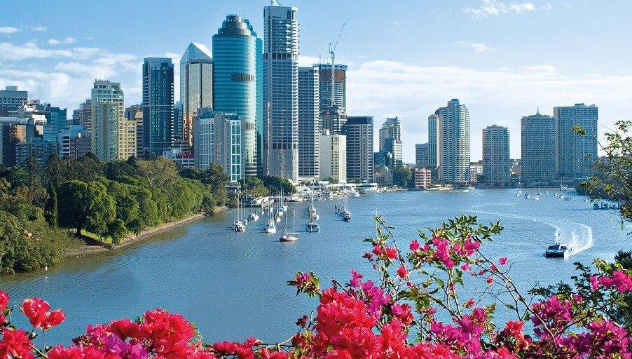 Новостройки города Брисбен, Австралия