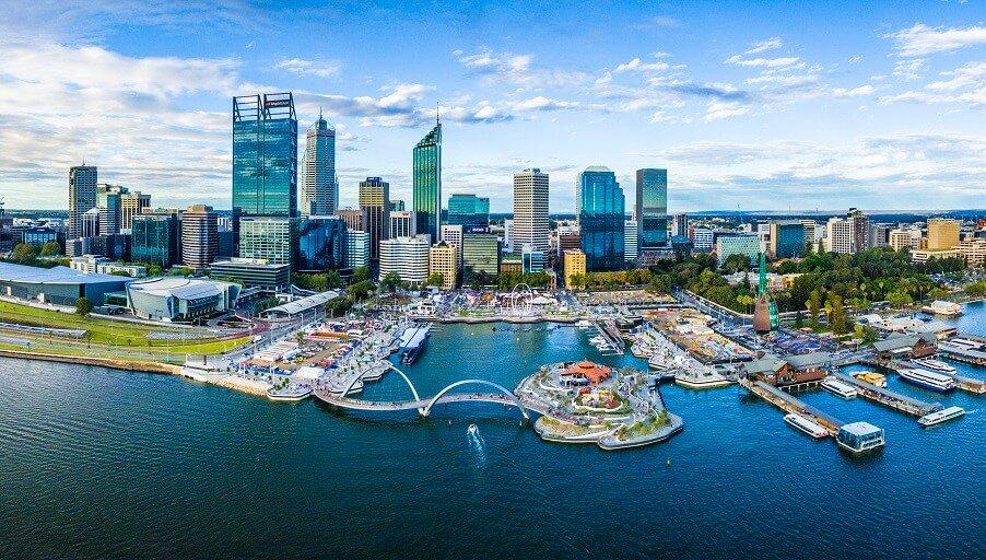 Австралийский город Перт