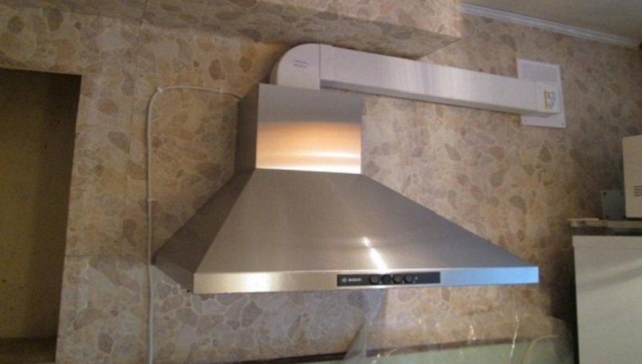 Правильный монтаж кухонной вытяжки