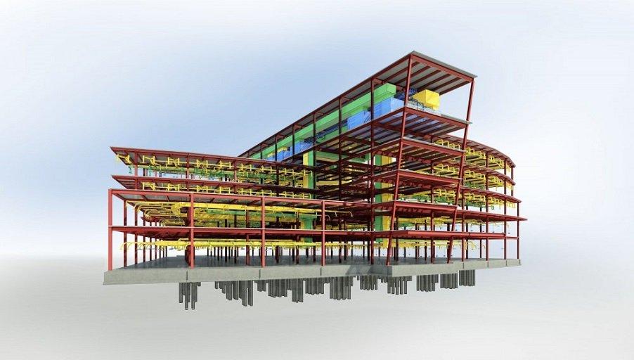 BIM-модель здания