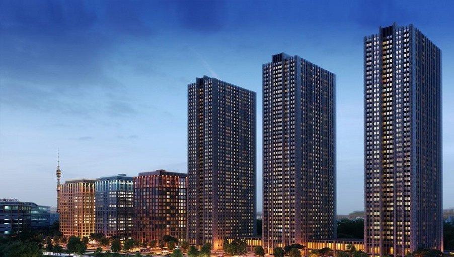 Завершено строительство небоскрёба в составе ЖК «Савёловский Сити»