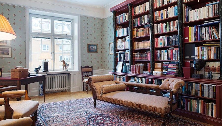 Как подобрать мебель для домашней библиотеки